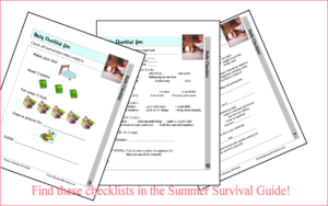 Daily to do list for summer. 3 tyoes for different ages. Get the workbook beofre kids get home!