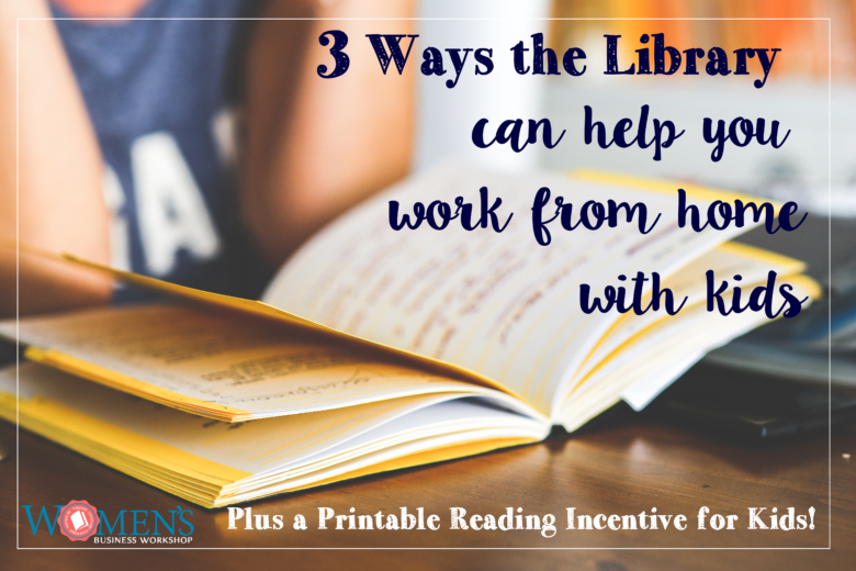 3 Ways the Library Can Help You Get More Done at Home