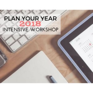 women's business workshop plan your business year