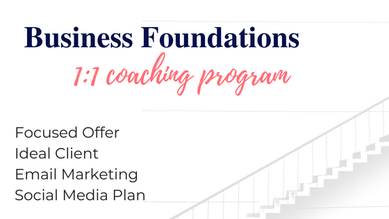get your foundations in place for your small business.