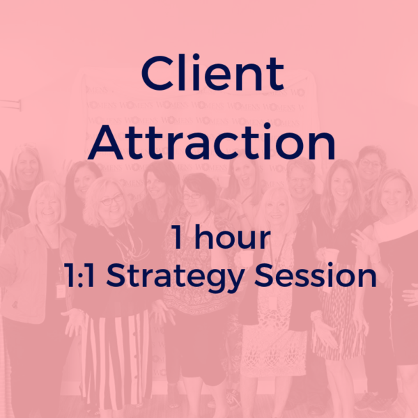 Determine your ideal client and how to attract them with your offers and usp