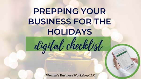 Prep your business for the holidays for happy customers and more time off with your family