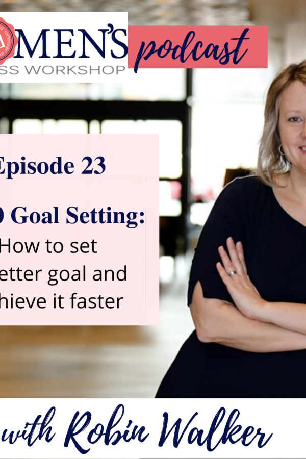 How to set a 2020 goal and achieve it faster. Strategy and focus for female entrepreneurs and business owners