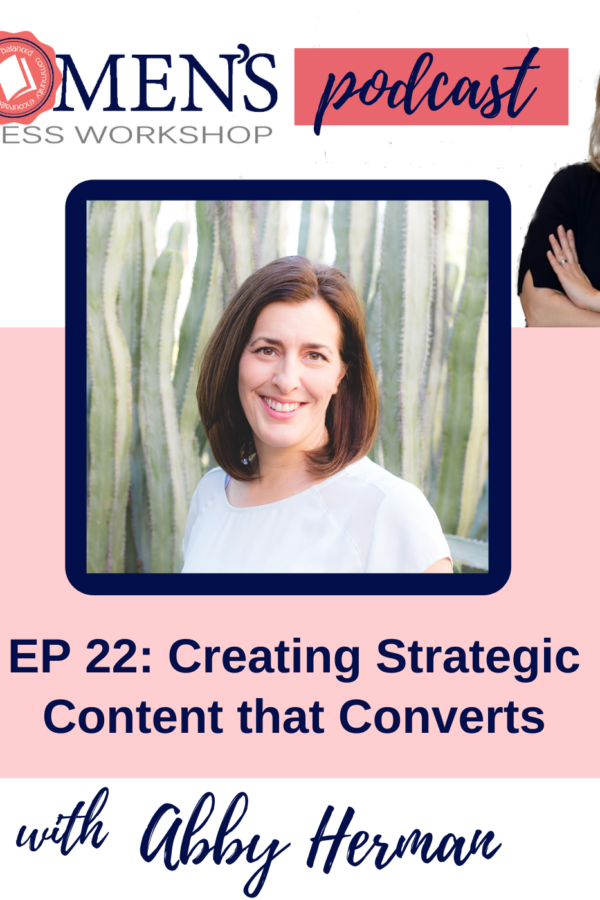 Content that Converts podcast for female entrepreneurs and small business owners