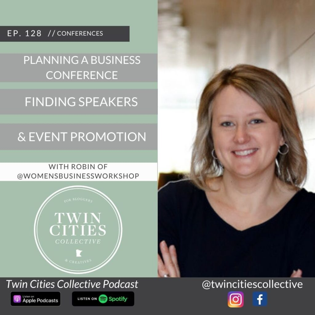 plan online and in person events in the midwest with tips from Robin Walker