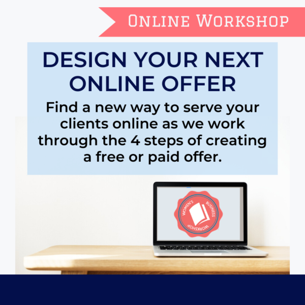 how to create your next online offer for female entrepreneurs