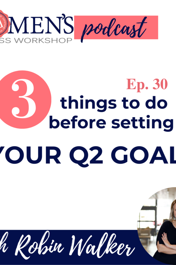 How to set a goal when everything seems up in the air?