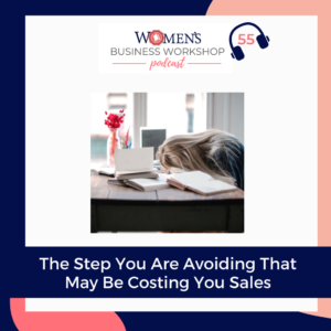 the step you are avoiding that is costing you sales
