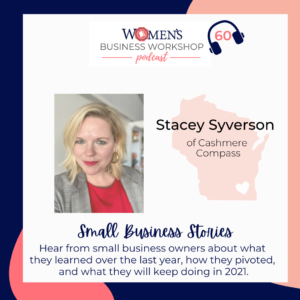 stacey syverson cashmere compass podcast interview